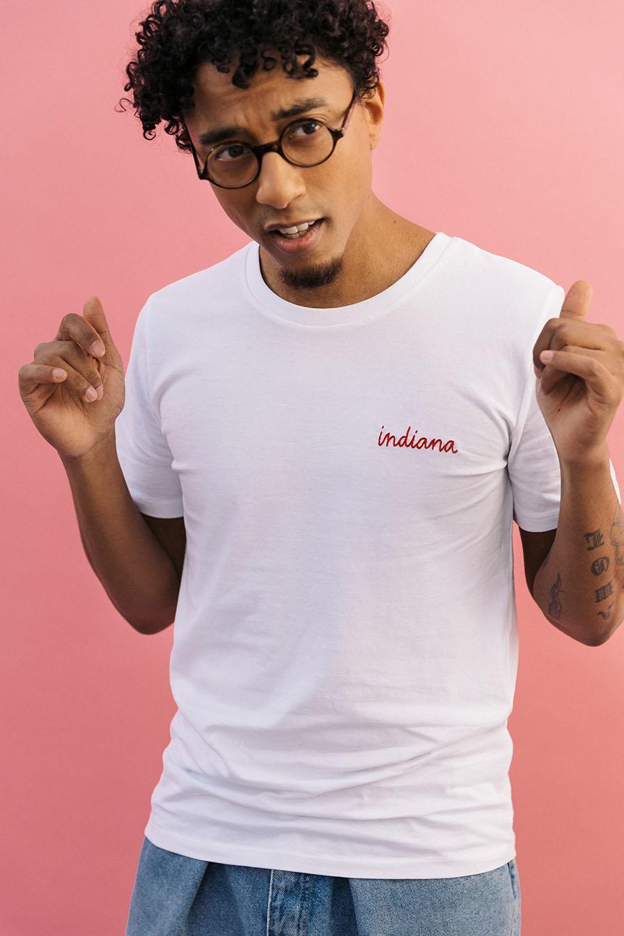 tee shirt homme personnalisé brodé
