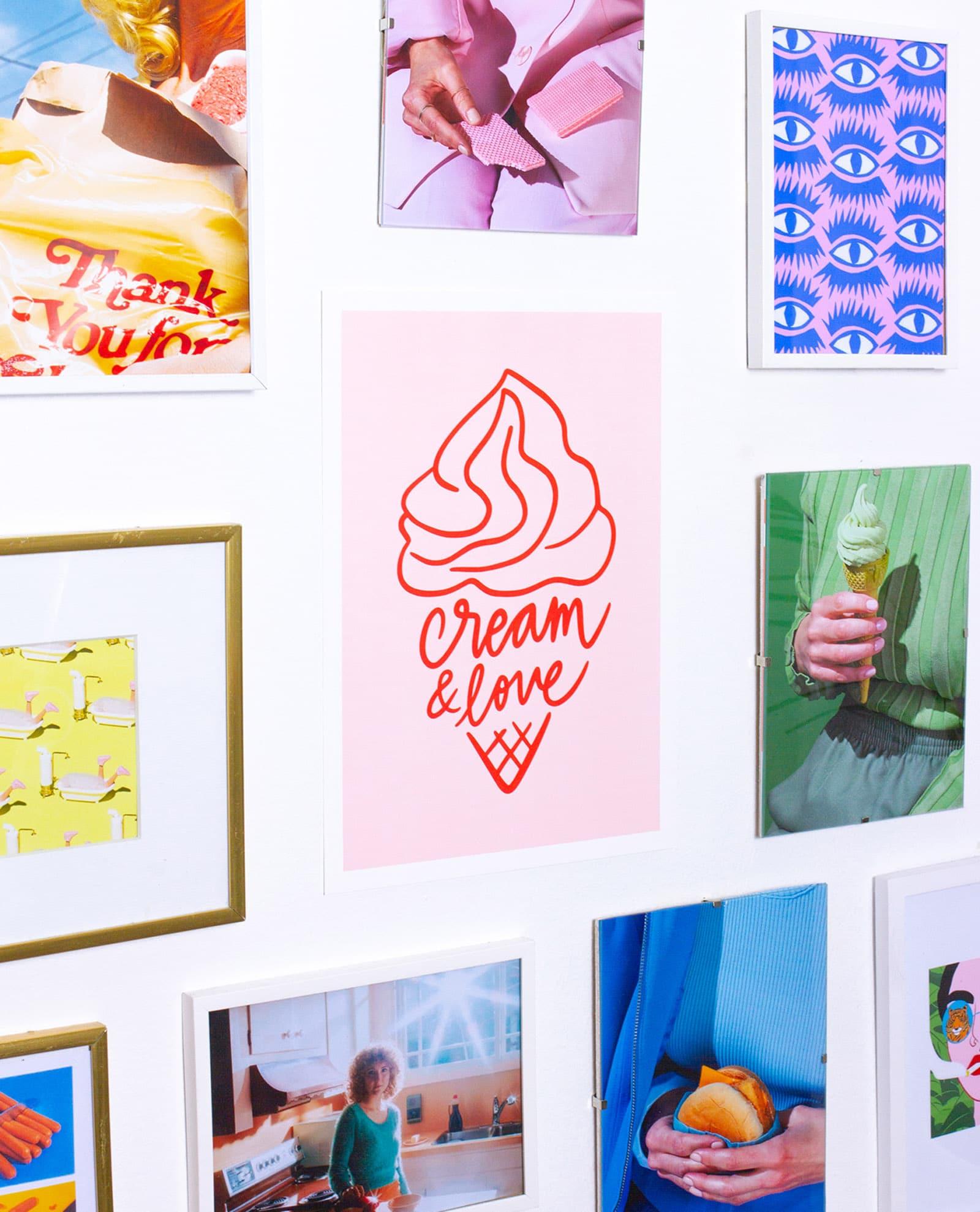 cadeaux cool cream love