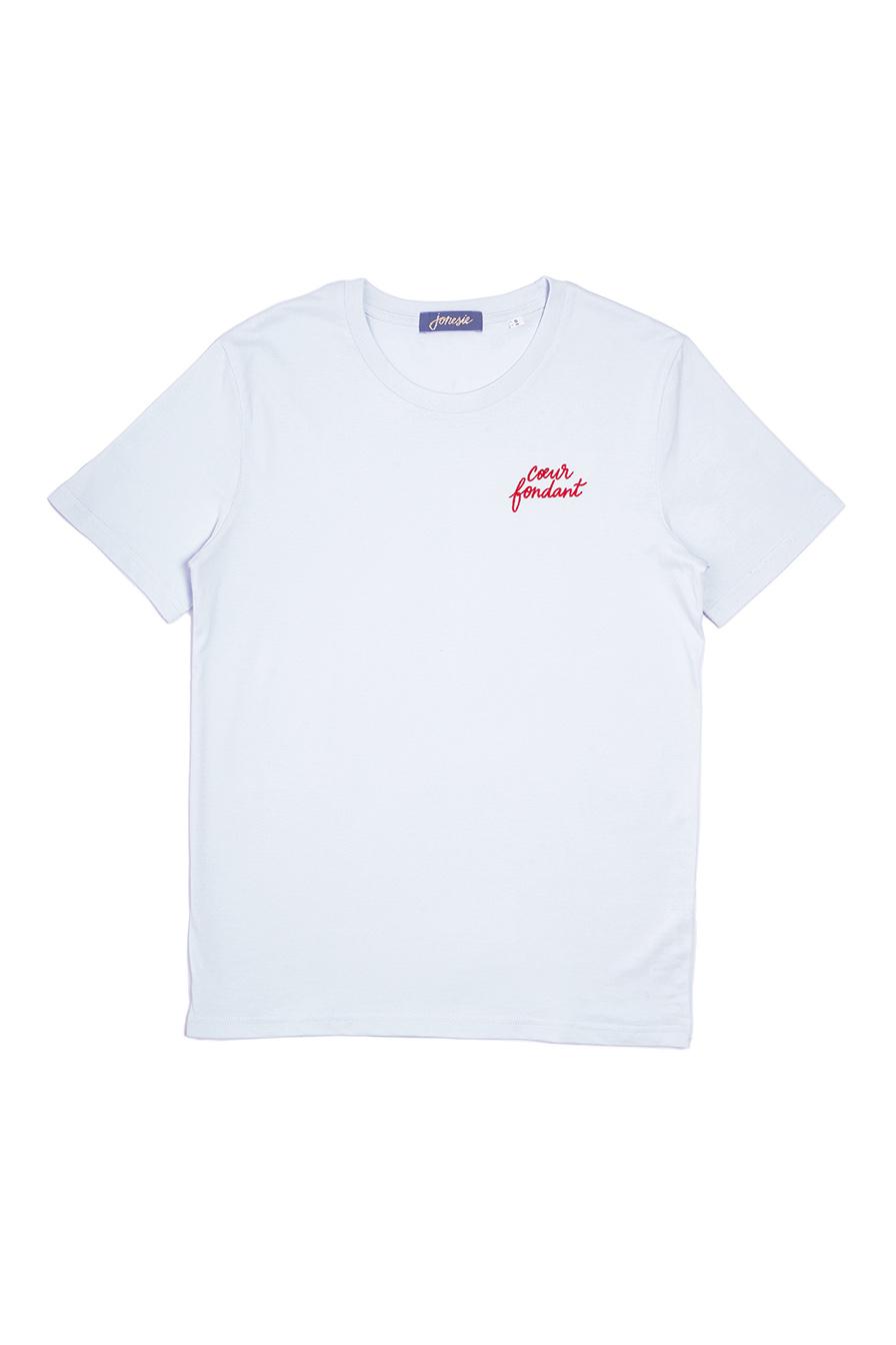 tee shirt message brodé jonesie