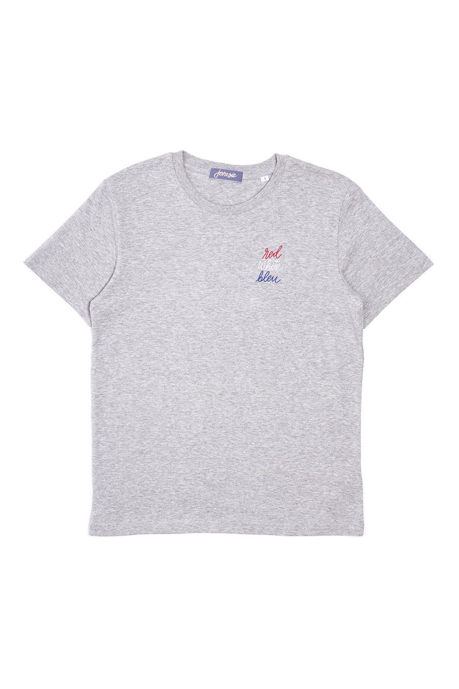 t-shirt broderie paris