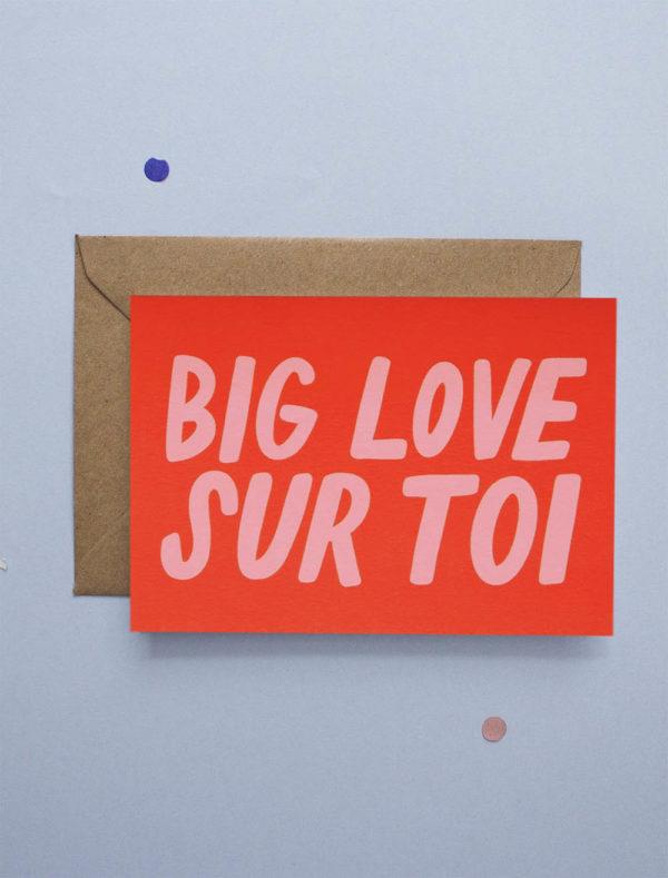 carte de voeux amour jonesie