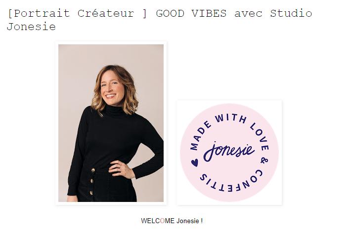 jonesie créatrice paris