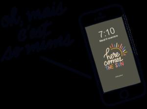 typographie design mobile