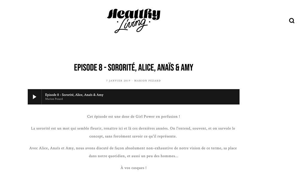 podcast sororité jonesie