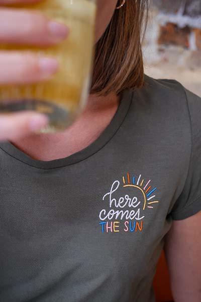 t-shirt broderie jonesie