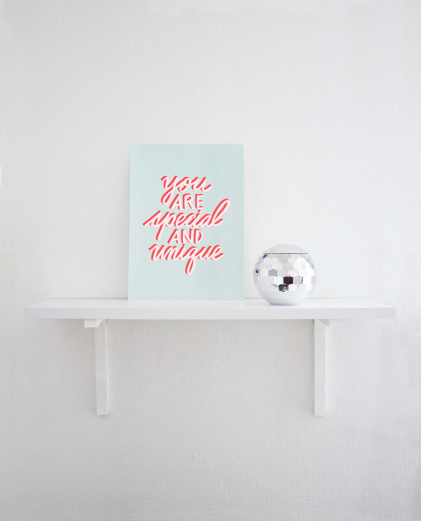 Poster you are special